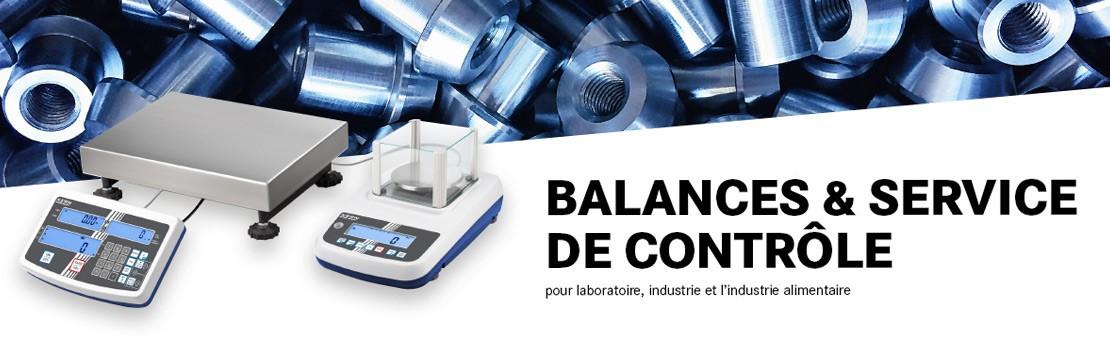Balances pour l'industrie et les laboratoires